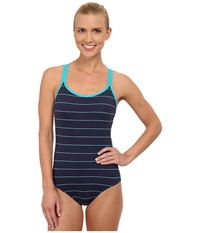 Carve Designs Beacon Full Piece Anchor Coastal Women's Swimsuits One Piece Blue