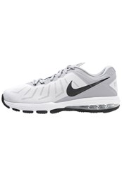 Nike Performance Air Max Full Ride Tr Sports Shoes White Black Wolf Grey Metallic Silver
