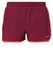 Hummel Winnie Sports Shorts Magenta Purple