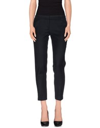 New York Industrie Trousers Casual Trousers Women Dark Blue
