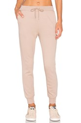 Alexander Wang French Terry Sweatpant Beige