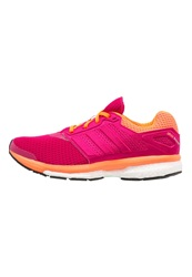Adidas Performance Supernova Glide Boost 7 Cushioned Running Shoes Bold Pink Solar Orange