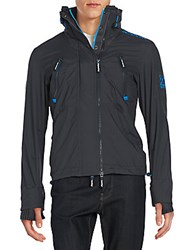 Superdry Wind Attacker Jacket Charcoal