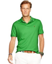Polo Ralph Lauren Big And Tall Pima Soft Touch Polo Shirt Neon Green