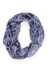 Forever 21 Floral Print Infinity Scarf