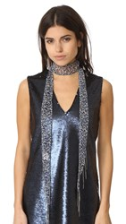 Chan Luu Skinny Scarf Necklace Dove Combo