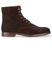 Polo Ralph Lauren Brown Daley Suede Boots