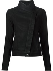 Vince Snap Button Fastening Jacket Black