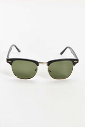 Urban Outfitters Mass Round Sunglasses Black