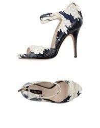 Escada Footwear Sandals Women Blue