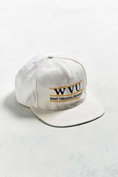 Urban Outfitters Vintage West Virginia University Snapback Hat White