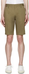 Marc Jacobs Green Cotton Shorts