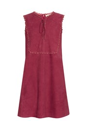 Vanessa Bruno Edane Suede Dress