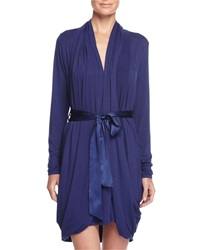 Fleurt Whispers Of Love Short Robe Twilight