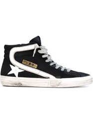 Golden Goose Deluxe Brand 'Slide' Hi Top Sneakers Blue