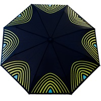 Raindance Umbrellas Starlight Yellow And Turquoise