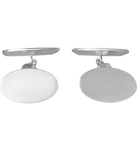 Links Of London Classic Oval Chain Link Sterling Silver Cufflinks