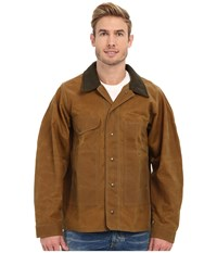 Filson Tin Jacket Extra Long Tan Men's Jacket