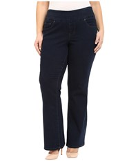 Jag Jeans Plus Size Paley Boot In After Midnight Comfort Denim After Midnight Women's Jeans Black
