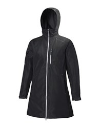 Helly Hansen Long Belfast Rain Jacket Black