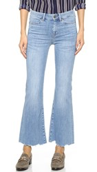 M.I.H Jeans Lou Cropped Flare Jeans Scallop