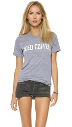 Private Party Iced Coffee Tee Grey