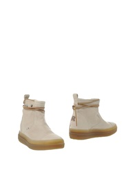 Ruco Line Ankle Boots Ivory