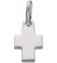 Links Of London Baby Cross Sterling Silver Charm