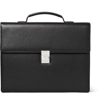 Montblanc Meistersta1 4Ck Full Grain Leather Briefcase Black