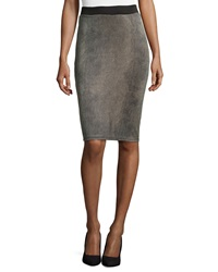 Romeo And Juliet Couture Mini Pebble Print Pencil Skirt Natural