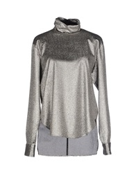 Cedric Charlier Cedric Charlier Blouses Silver