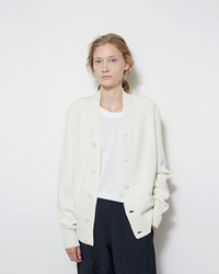 Christophe Lemaire Crepe Wool Cardigan