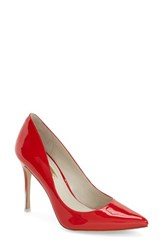 Women's Bcbgeneration 'Treasure' Pointy Toe Pump Candy Red Patent