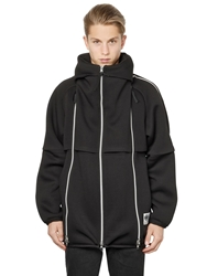 Final Home Dr. Jersey Techno Fleece Jacket Black