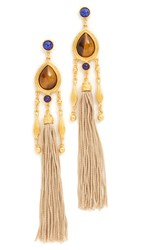Ben Amun Jasmine Earrings Gold