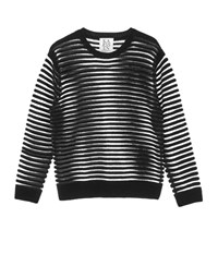 Zoe Karssen Stripes Cropped Pullover