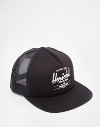 Herschel Supply Co Whaler Trucker Cap Black