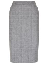 Fenn Wright Manson Check Asteroid Skirt Grey