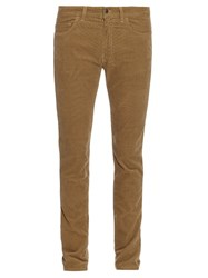 Acne Studios Ace Skinny Fit Corduroy Trousers Beige