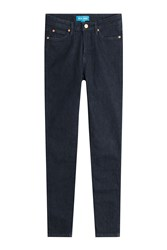 Mih Jeans Mid Rise Ankle Blue