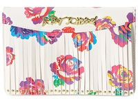 Betsey Johnson On The Fringe Wallet On A String Floral Wallet Handbags Multi