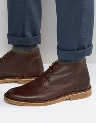 Selected Homme New Royce Leather Boots Brown