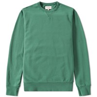 Hawksmill Denim Co. Crew Sweat Green