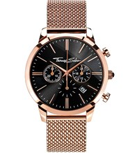 Thomas Sabo Rebel At Heart Rose Gold Toned Stainless Steel Watch