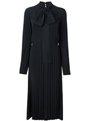 N 21 No21 Bow Neck Shirt Dress Black