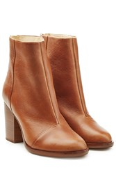 Rag And Bone Leather Ankle Boots Camel