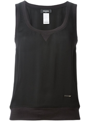 Dsquared2 Sleeveless Top Black