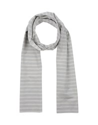 Reveres 1949 Accessories Oblong Scarves Men Light Grey