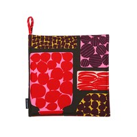 Marimekko Pieni Purnukka Pot Holder Green Red Yellow
