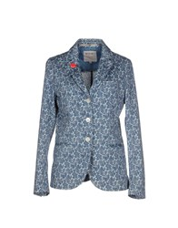At.P. Co At.P.Co Suits And Jackets Blazers Women Pastel Blue